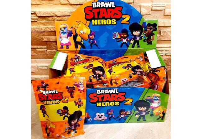 Игрушки Бравл Старс (2 сезон)  герои игры Brawl Stars (1 фигурка+1 карточка).