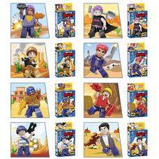 Іграшки Лего Бравл Старс, ігрові фігурки з героями Lego Brawl Stars