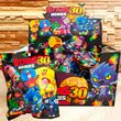Іграшки Бравл Старс (3 картки + 1 фігурка) герої гри Brawl Stars (30 скін сезон).