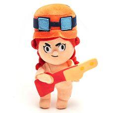 Мягкая игрушка Джесси (Jessie) из Бравл Старс (24см), персонаж игры Brawl Stars
