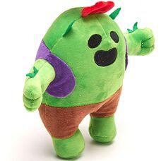 Мягкая игрушка Кактус Спайк (Spike) из Бравл Старс (21см), легендарка игры Brawl Stars