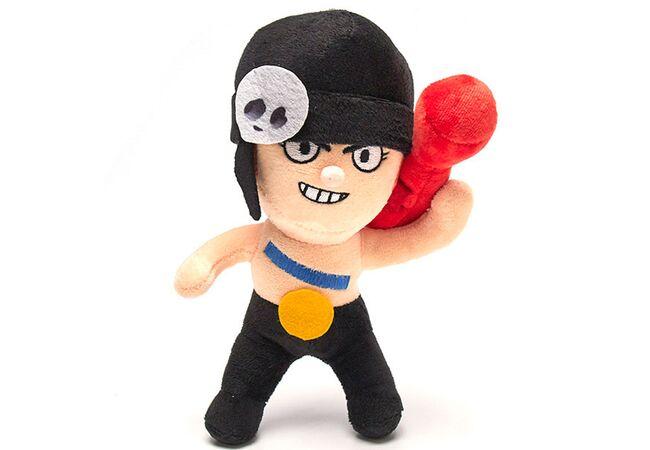 Мягкая игрушка Пенни (Penny) из Бравл Старс (24см), популярный герой игры Brawl Stars