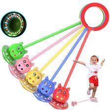 Детские нейроскакалки «Феерия» на одну ногу + светящееся колесико.