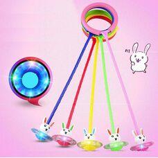 Нейроскакалка «Зайчонок» + светящееся колесико.