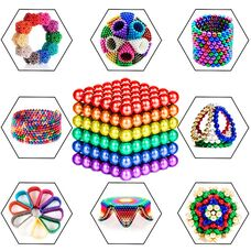 Neocube -  магнитный конструктор Неокуб 5мм (216 шт), магнитные шарики головоломка.