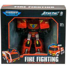 Тобот R робот трансформер Пожарный Tobot Атлон