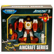 Тобот Мэх В робот трансформер самолет Tobot Mach W Атлон