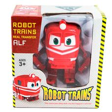 Робот поезд Альф игрушка - трансформер