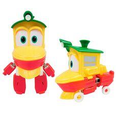 Робот поезд Утенок Дак игрушка - трансформер