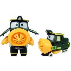 Робот поезд Джефри игрушка - трансформер
