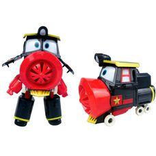 Робот поезд Виктор игрушка - трансформер