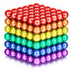 Неокуб - детский магнитный конструктор 5мм (216 шт), магнитные шарики Neocube.