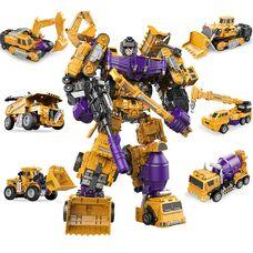 6 игрушек в 1 - трансформер Разрушитель: идеальный подарок для вашего ребенка