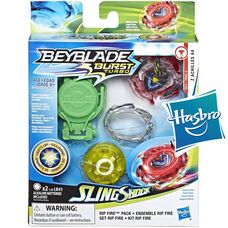 Бейблейд Турбо - Зет Ахиллес A4 Светящийся оригинал Hasbro Beyblade Burst Slingshock Rip Fire Starter Pack Z Achilles A4