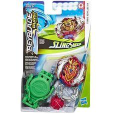Турбо Ахиллес А4 бейблейд Hasbro оригинал Beyblade Burst Turbo Slingshock Turbo Achilles A4 Starter Pack