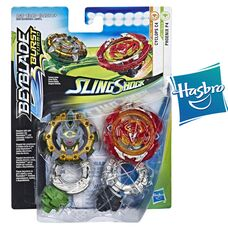 Бейблейд Турбо - Ривайв Феникс Р4 Циклоп C4 Hasbro оригинал Beyblade Burst Turbo Slingshock Phoenix P4 and Cyclops C4