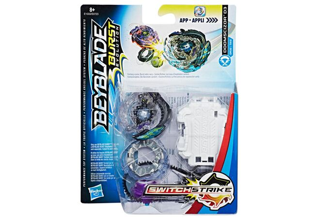 Думсайзор D3 Hasbro оригинал Beyblade Burst Evolution SwitchStrike Doomscizor D3