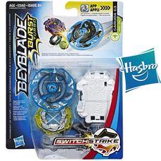Бейблейд Турбо - Гаруда Г3 Синий Hasbro оригинал Beyblade Burst Turbo SwitchStrike Garuda G3 Starter Pack