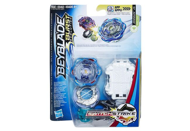 Бласт Дженниус J3 Hasbro оригинал Beyblade Burst Evolution SwitchStrike Jinnius J3