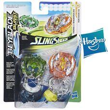 Бейблейд Турбо - Крэш Роктавор Р4 и Миноборос М4 Hasbro оригинал Beyblade Burst Roktavor R4, Thorns-X Minoboros M4