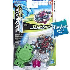 Бейблейд Турбо - Хит Саламандра S4 Hasbro оригинал Beyblade Burst Turbo Slingshock Salamander S4