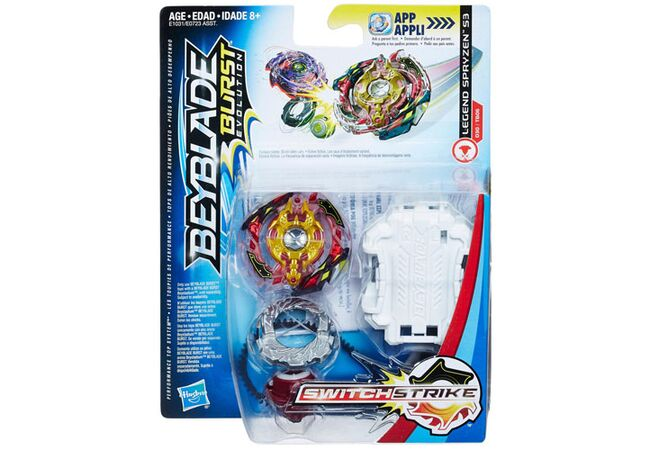Ледженд Спрайзен S3 Hasbro оригинал Beyblade Burst Evolution SwitchStrike Legend Spryzen S3