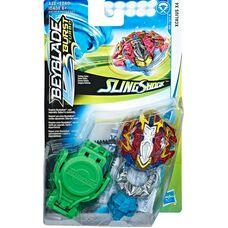 Бейблейд Турбо - Экскалиус Х4 Hasbro оригинал Beyblade Burst Turbo Slingshock Xcalius X4 Starter Pack