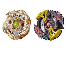 Бейблейд Турбо - Зейтрон Гелекси и Бетромоз Hasbro оригинал Beyblade Slingshock Galaxy Zeutron Z4 Gold-X Betromoth B4
