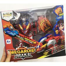 Большой Мегароид Драка монстр из Монкарт робот трансформер