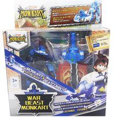 Бітроід Лео і Майкі іграшка робот трансформер Монкарт