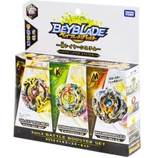 Battle booster set 3 on 3 beyblade (Такара Томи) бейблейд оригинал