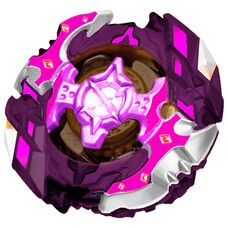 Бейблейд фиолетовый Спригган в редизайне В-128