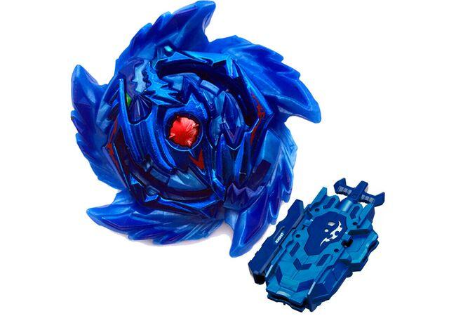 Бейблейд левосторонний Ирейз Диаболос синий с двусторонним запуском