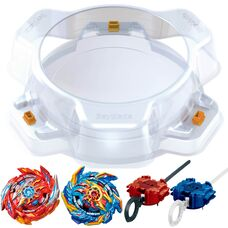 Набор Суперкинг Гамма Бей 2 бейблейда + арена Beyblade Superking Battle Set Takara Tomy B-162