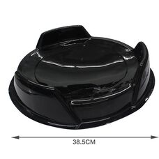 Арена черная (тонкий пластик)
