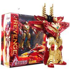 Робот трансформер Железный Человек