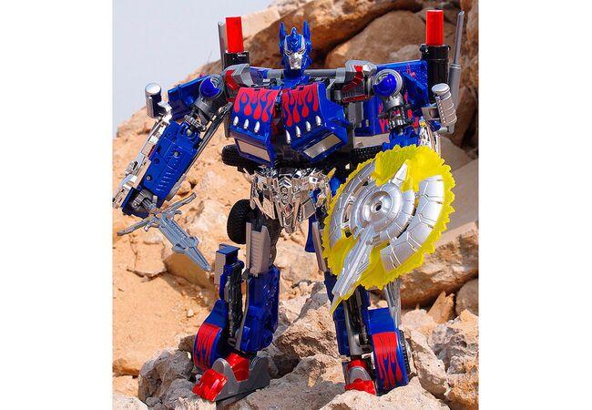 Робот трансформер Оптимус Прайм и щит равновесия (со звуком)