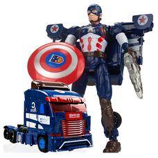 Робот трансформер Капитан Америка из Мстителей