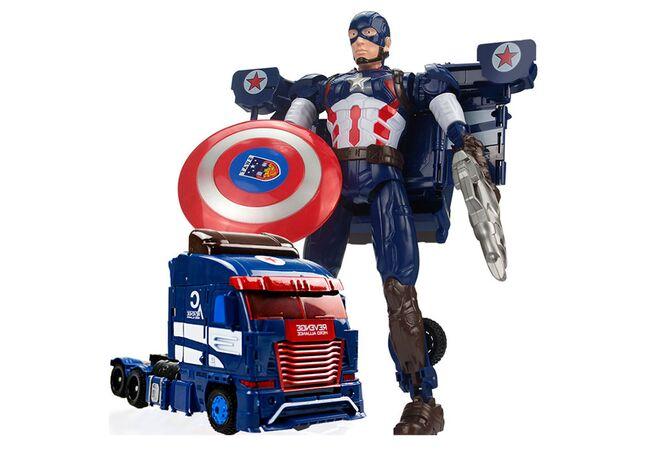 Робот трансформер Капітан Америка з Месників