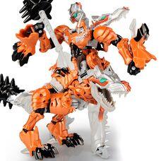 Робот трансформер Гримлок динозавр Динобот классик